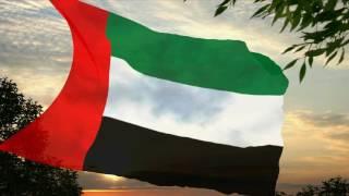 Flag and anthem of United Arab Emirates