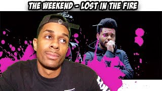 Gesaffelstein & The Weeknd - Lost in the Fire (Official Video) REACTION