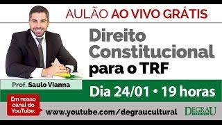 Aulão transmitido ao Vivo com o professor Saulo Vianna sobre Direit...