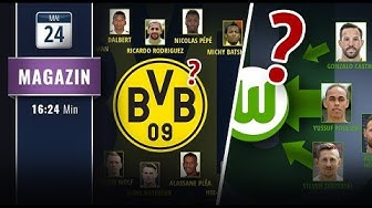 Große Gerüchteküche: BVB & Wolfsburg vor Kaderumbruch?