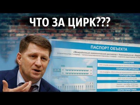 ЧТО ЗА ЦИРК? Сергей Фургал приехал с инспекцией в Комсомольск