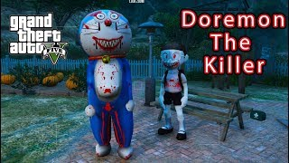 GTA 5 Mod - Doremon The Killer Tìm Gặp Nobita The Killer #2