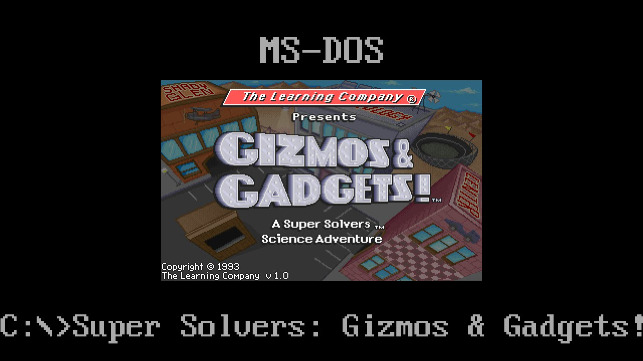 Super solvers gizmos gadgets ms dos for windows 3.5 diskettes ages 7 12