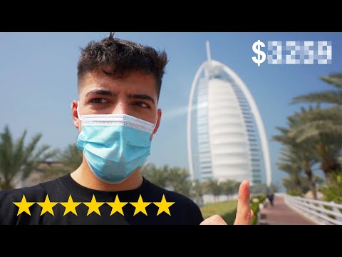 I Stayed in World's Only 7 Star Hotel (Burj Al Arab)