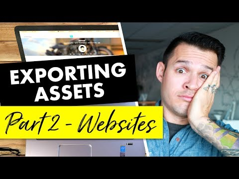 Exporting Design Assets for Projects | Part 2 - Websites