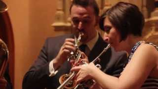 Bach: Alleluia from Cantata, BWV 142 - Alliance Brass Quintet