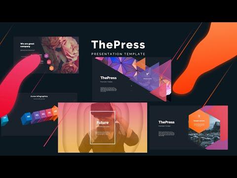 Most Popular PowerPoint Templates 🔥 ThePress 🔥