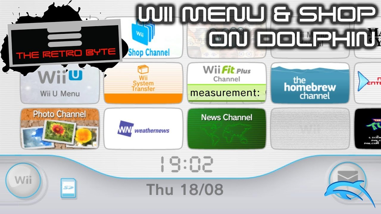 Running the Wii menu and shop on Dolphin 5 0 - The Retro Byte
