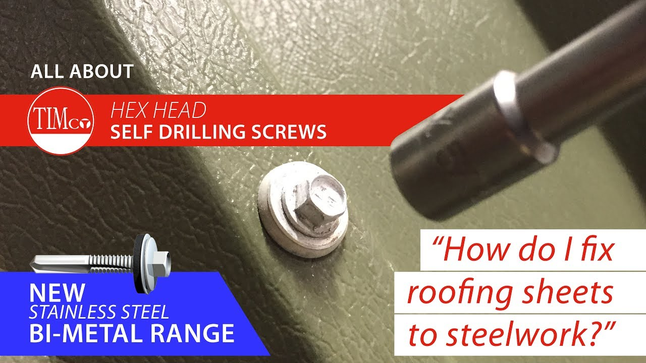How Do I Fix Roofing Sheets To Steelwork Timco How To
