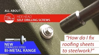 ROOFING SCREWS FOR ROOF AND WALL SHEETING USED IN THE CLADDING INDUSTRY
