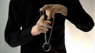 Repeat youtube video Ring auf Kette Zaubertricks mit Anleitung