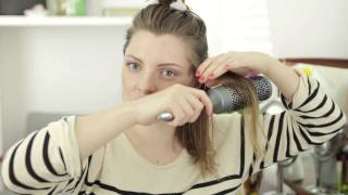 How to add volume to straight, fine hair with Essie Button | Advertisement for ALL THINGS HAIR
