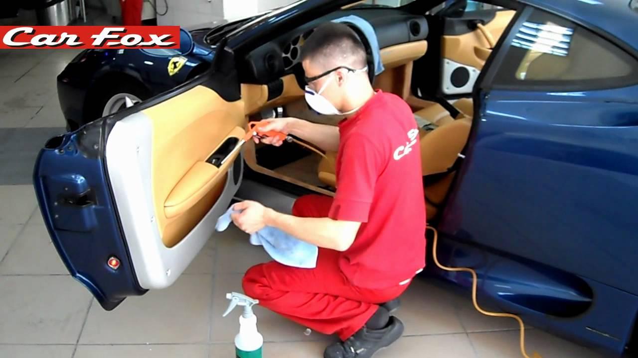 химчистка салона автомобиля Химки недорого