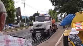 Терміновий ремонт дороги в р. Туймази (Башкирія)