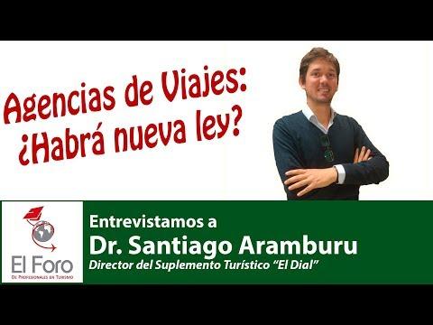 #2 Santiago Aramburu en Aire de Turismo - Ley de Agencias de Viajes