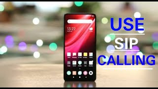 How To EnableSIP Callson YourAndroid Phone   SIP Internet Calling and VoIP on Mi Redmi Phone   screenshot 3