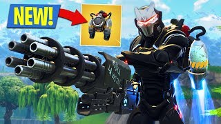 New Fortnite Jetpack Gameplay! (Fortnite Battle Royale)