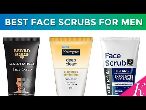 7 Best Face Scrubs For Men In India With Price Top De Tans Scrubs Youtube