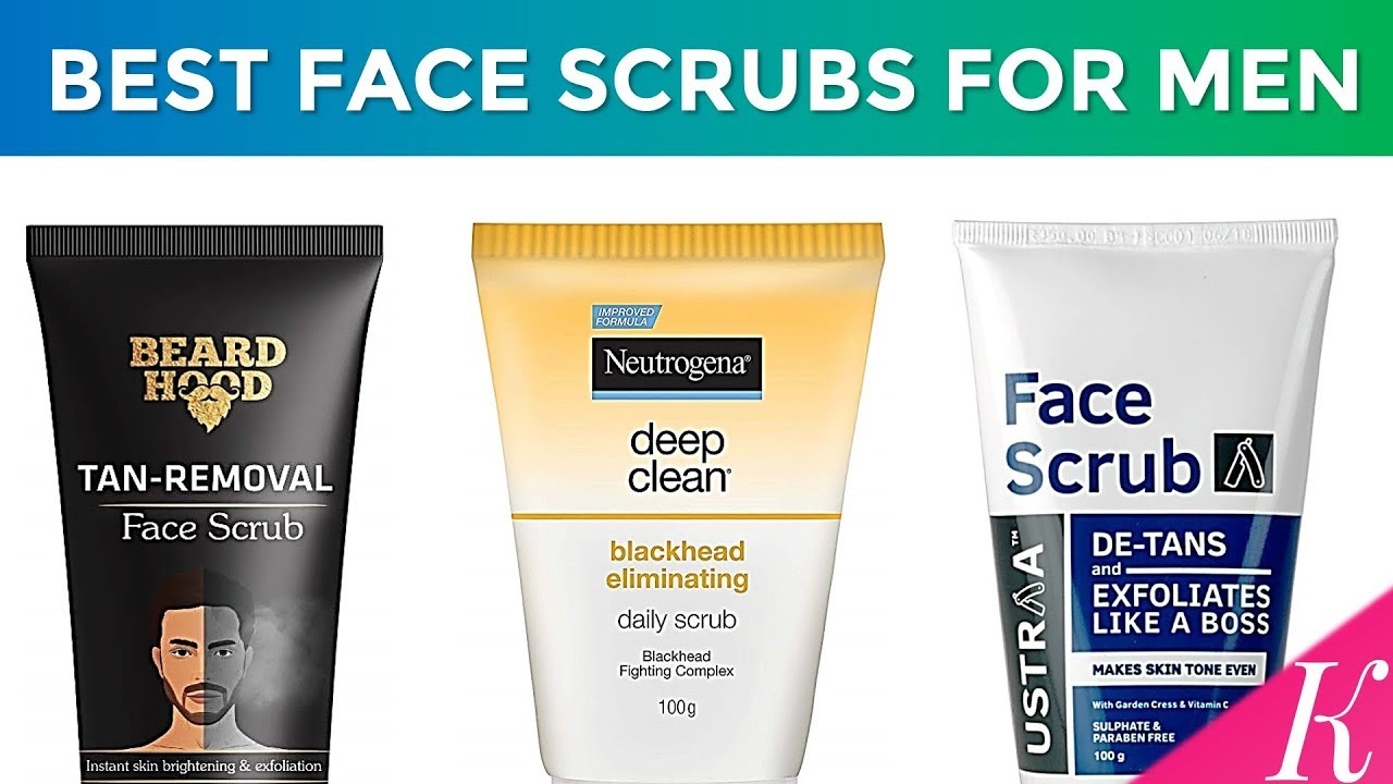 7 Best Face Scrubs For Men In India With Price Top De Tans