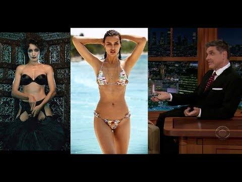 Irina Shayk, Aisha Tyler, Lindsay Sloane and Jennifer Beals flirt with Craig Ferguson Compilation