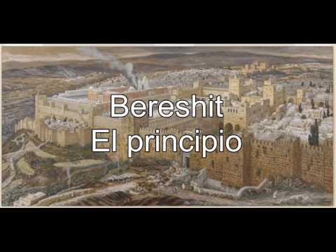 Bereshit Parshat / Haftarat - lectura de la Torah / Genesis español Rabino Kalfan  Torat Emet