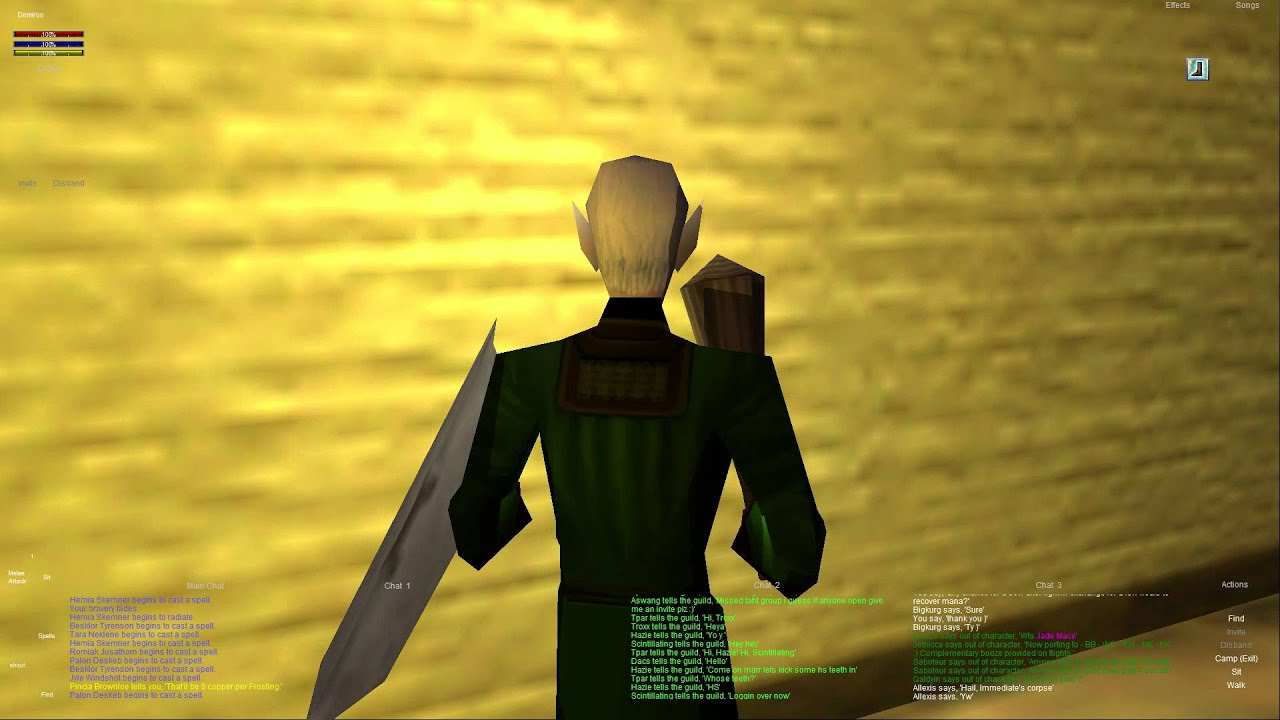 Everquest old school : Part 1 - Cooking Skill 1 -46 - Freeport - High Elf  Cleric