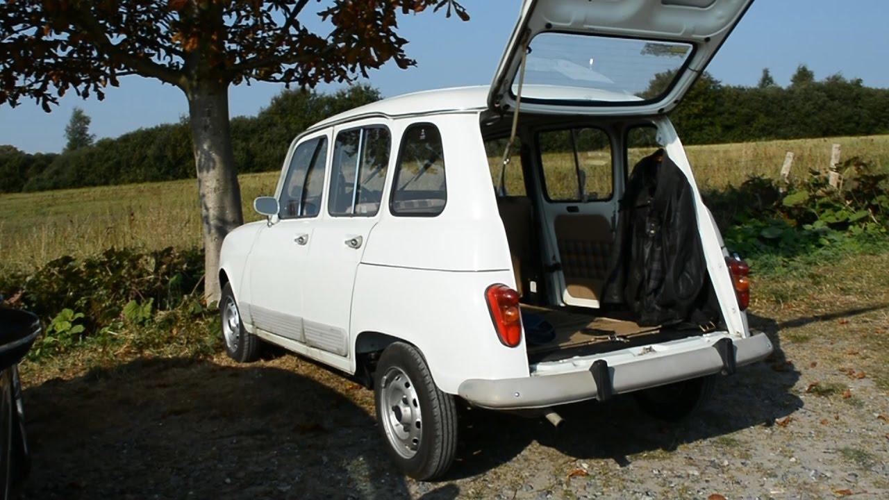 Meet Bernard And His Mint Condition 1984 Renault 4 Gtl R4