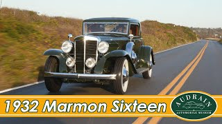 Marmon V16: They Aren't This Grand Anymore