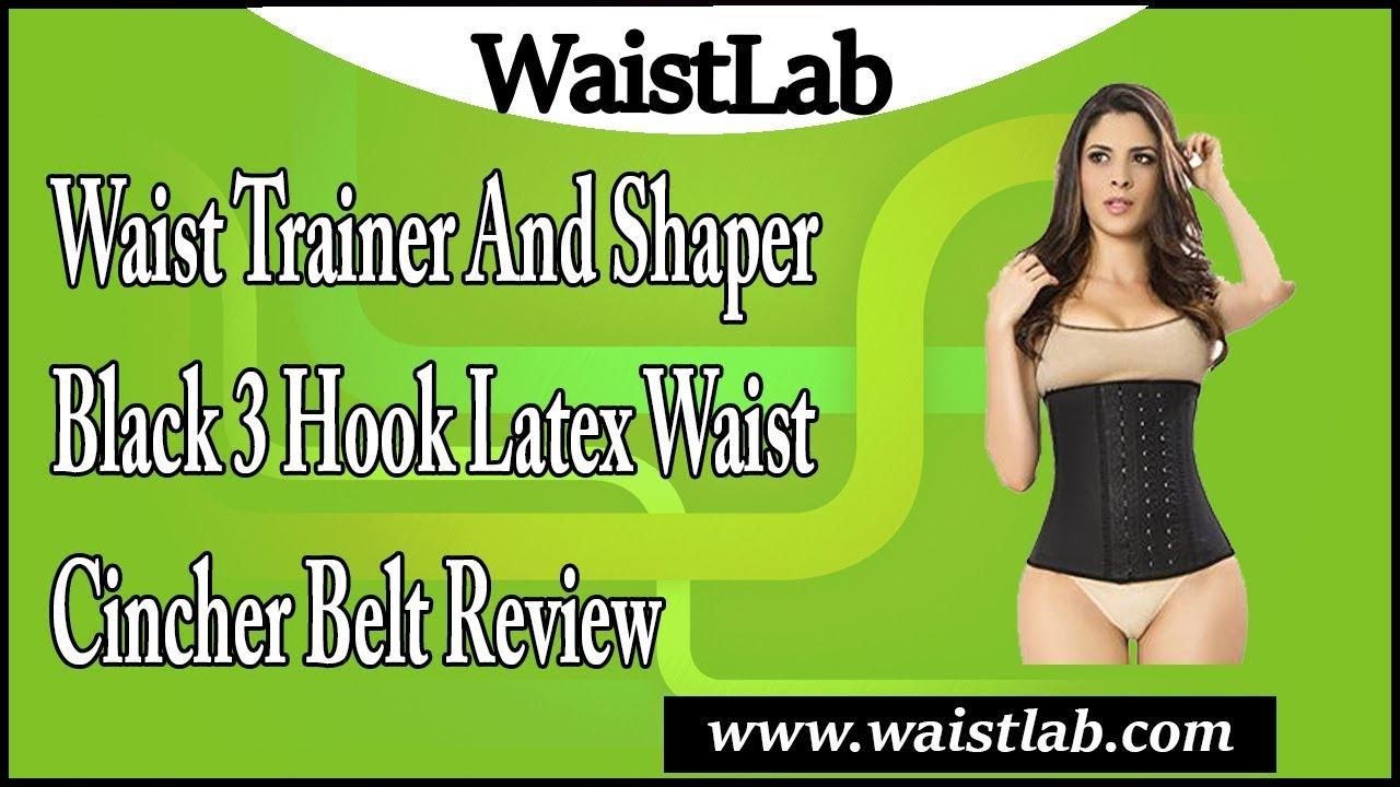 06d2529d9b Ann Chery 2021 Womens 3 Hook Waist Cincher Belt Latex Training ...