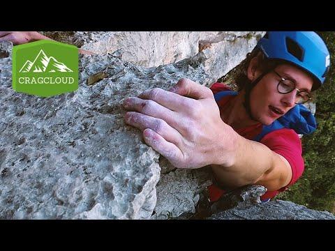 How To Climb Pantarei (6b+) Near Arco In Italy | Rock Climbing Vlog Ep. 35