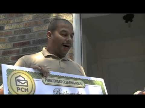 Tyrone Garvin of Brooklyn NY Wins $10,000.00 from Publishers Clearing House!