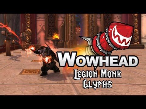Legion Monk Glyphs