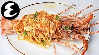 Lobster Linguine at Scalini Dubai | Esquire Eats