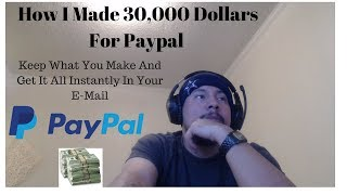 PayPal Money Made Easy $20 to $500 With Unlimited Offers