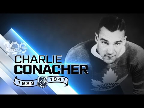 Charlie Conacher was known for his powerful shot