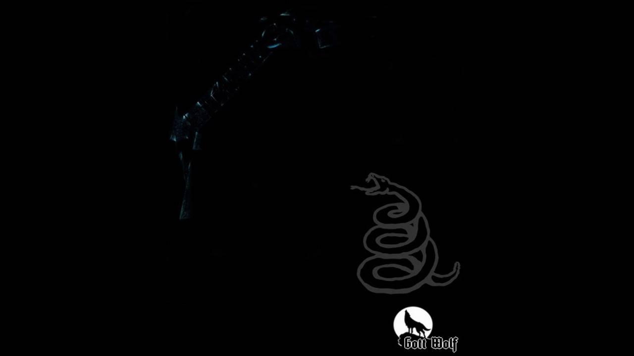 Metallica Wallpaper Hd 1080p Metallica - Black Albu...