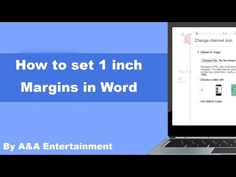 How To Set 1 Inch Margins In Word
