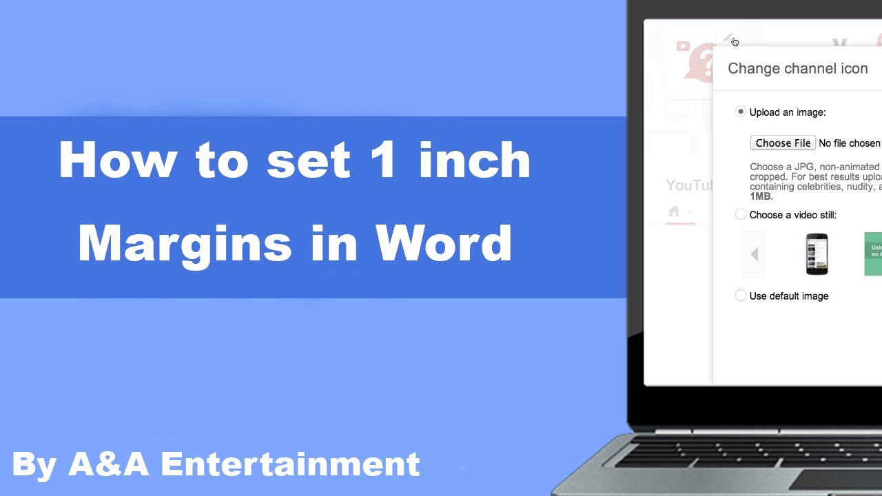 How To Set 1 Inch Margins In Word   YouTube  One Inch Margins
