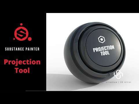 Working with Projection Tool in Substance Painter