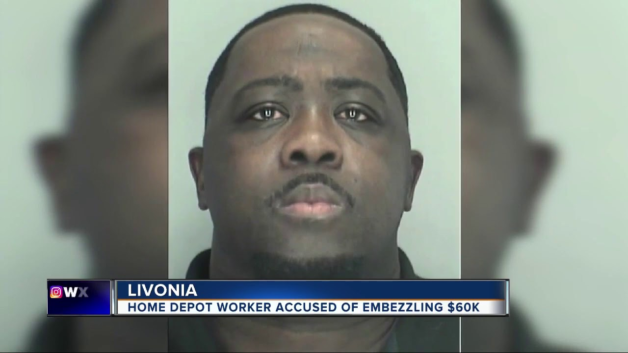 Employee stole more than $60K in merchandise from metro Detroit Home Depot