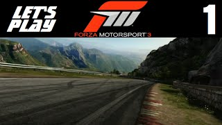Let's Play Forza Motorsport 3 - Part 1 - Prologue