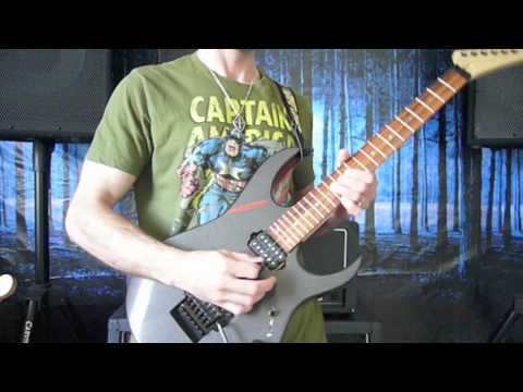 Crossfire Guitar Cover Solo by Steve Sabz - YouTube