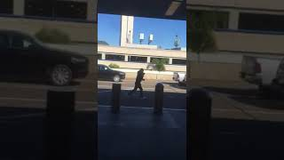 6ix9ine gets in a fight at LAX