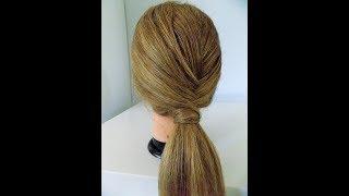 Sposób na fajną kitkę/kucyk || Łatwy tutorial || Hairstyles