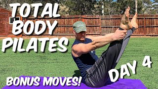 34 Pilates Mat Exercises + Bonus Moves (my 4th attempt)