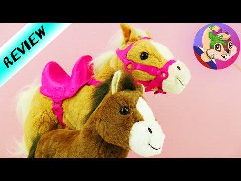 BABY BORN Набор лошадка с жеребенком | Интерактивные плюшевые лошадки  Sunny & Baby от Zapf Creation