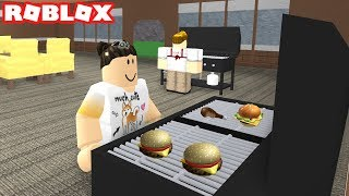 BBQ & GRILLING IN ROBLOX RESTAURANT TYCOON