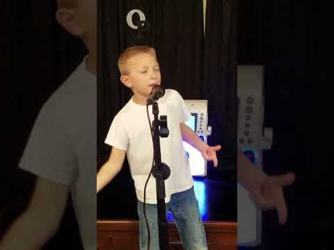 What makes you county by Luke Bryan, song by 7 year old Owen