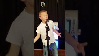 What makes you country by Luke Bryan, song by 7 year old Owen