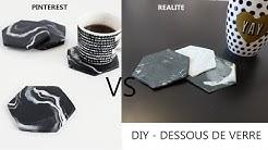 DIY - DESSOUS DE VERRE